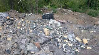Захоронения отходов арматурки на красной мельнице в Благовещенске РБ