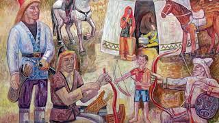 Художник Дамир Ишемгулов (Акъяр и Хайбуллинский район, проект «Любимые художники Башкирии»)