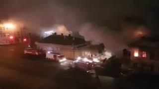 Пожар Уфа 6 ноября 2017 года, есть погибший