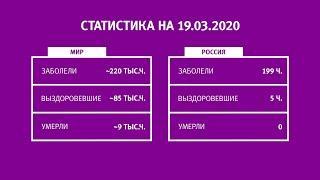 UTV. Коронавирус в Башкирии, России и мире на 19 марта 2020. Плюс опрос уфимцев