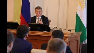 Радий Хабиров озвучил первые кадровые изменения в правительстве