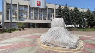 В Керчи закрыли фонтан у здания администрации города