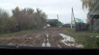 Дороги в Ошмянке Благовещенского района РБ