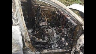 Машина сгорела в кювете: шесть человек пострадали в аварии на трассе под Уфой