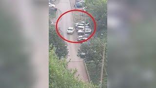 Пьяная уфимка за рулем «семерки» нарочно протаранила семь машин