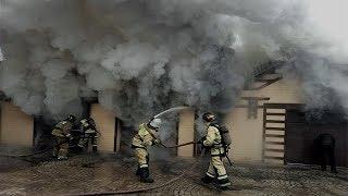 В Октябрьском сгорел 16-метровый гараж