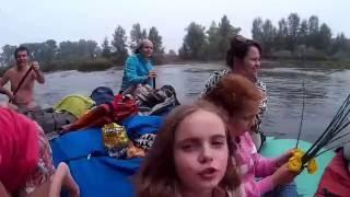 Сплав по реке Большой Ик (Оренбургская область)