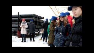 Школьники посетили Нефтекамский завод нефтепромыслового оборудования