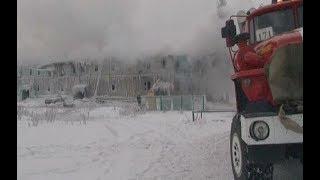 Спасательная операция продолжалась 6 часов: подробности пожара в жилом доме в Новом Уренгое