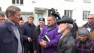 Приезд  Временно исполняющий обязанности главы Республики Башкортостан Хабирова Р.Ф. в г.Белебей