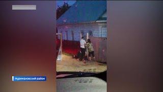Нападение жены задержанного водителя на полицейских в Башкирии попало на видео