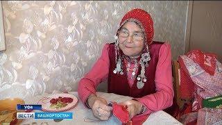 Пенсионерка из Уфы готовится к фольклориаде-2020
