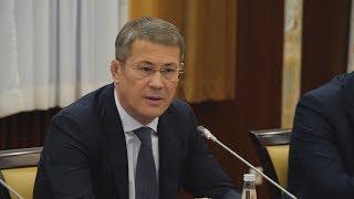 UTV.  Радий Хабиров пообещал построить в Уфе реабилитационный центр для детей