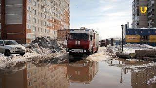 Новости UTV. Пожарные учения на городской больнице