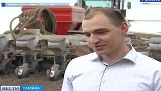 В Самарской области идет посевная яровых культур