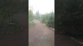 1 июня в Башкирии г.Дюртюли снег