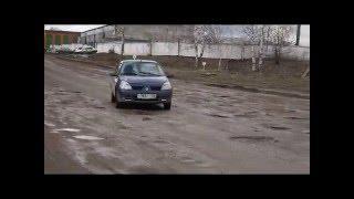 Житель Благовещенска показал убитые дороги Благовещенска РБ