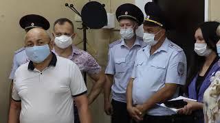 Общественники совместно с коллегами из МВД  провели мониторинг работы полиции в  г.Благовещенске