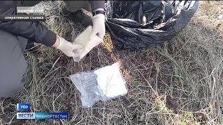 Полицейские изъяли у жителя Ишимбая 14 килограммов наркотиков