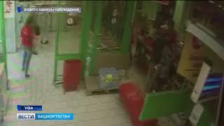 В Уфе сотрудники магазина устроили погоню за воришкой