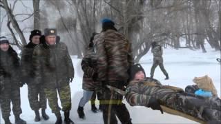 Мелеузовский Кадетский Корпус . Полевой Выход Зима 18 03 2016