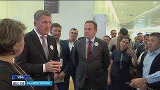 Радий Хабиров ознакомился с работой центра «Мой бизнес» в Уфе