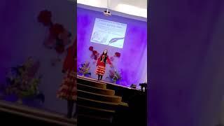 Концерт памяти поэтессы Каусарии Шафиковой.г янаул  на сцене Элина Фатхиева