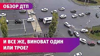 Обзор ДТП с камер Уфанет с 16 по 23 октября