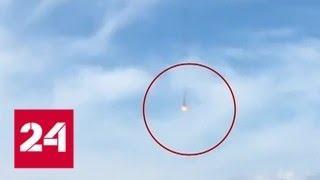 Столкновение истребителей в Германии: один из пилотов погиб - Россия 24