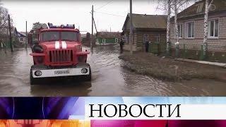 ВОренбургской области жители нескольких населенных пунктов эвакуированы иззоны затопления.
