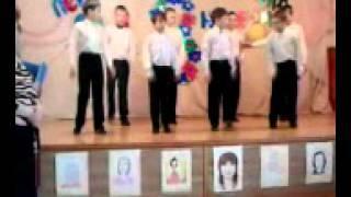 Танцует школа-интернат  Белебей