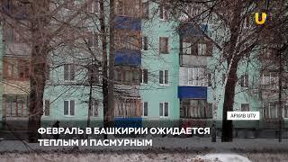 Новости UTV. Февраль ожидается теплым