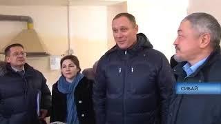 Сибай ТВ: видеосюжет о визите министра экономического развития РБ Сергея Новикова в г.Сибай