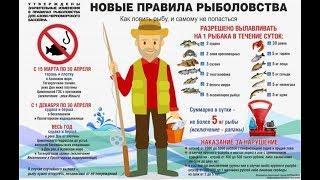 """Закон о """"бесплатной"""" рыбалке,повод для коррупции"""