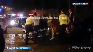 Сломал ребро полицейскому и пытался сбежать: в Уфе сняли на видео задержание пьяного дебошира