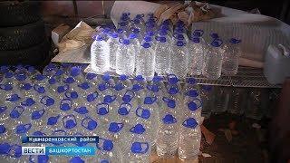 Житель Башкирии хранил в гараже более 300 баллонов контрафактного алкоголя
