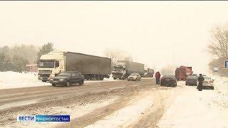 В Башкирии продлили штормовое предупреждение