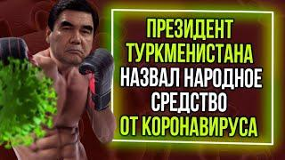 Из России с любовью. Президент Туркменистана назвал народное средство от коронавируса