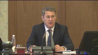 Радий Хабиров провёл оперативное совещание в Правительстве Башкортостана