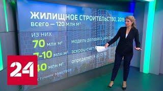 День строителя-2019: новые правила продажи недвижимости и строительство метро - Россия 24