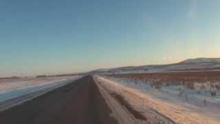 Дорога через Баймакский район Ч.2