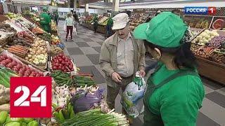 Роспотребнадзор нашел на столичных прилавках опасную для здоровья зелень - Россия 24