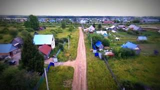 Участок слева. поселок Урман, Башкирия аэросъемка.