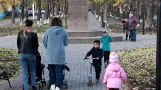 Сквер по улице Садовой, г. Давлеканово.