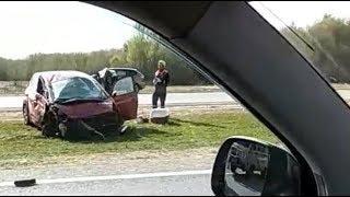 Авария на трассе М-8