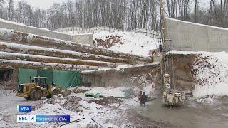 Строительство Восточного выезда в Уфе вышло на новый уровень