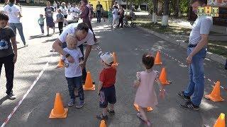 «Семейный выходной» на площади Металлургов