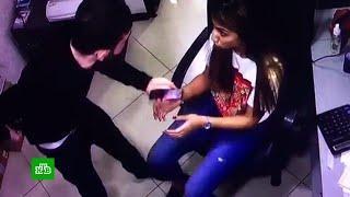 Ревнивец изрезал бывшую жену на глазах у ее коллег