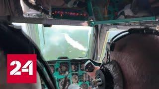 МЧС и военные продолжают борьбу с сибирскими пожарами - Россия 24