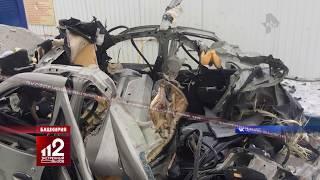 Снесло крышу у автомобиля | видео